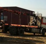 Romania Supplies Used Scania Short Log Truck in Romania