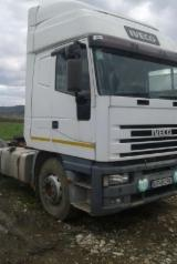 Romania Supplies Used Iveco eurostar Short Log Truck in Romania