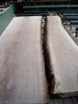 Laubholz  Blockware, Unbesäumtes Holz - Eichen-Schnittholz 52 mm KD