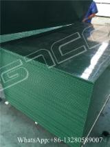 Plywood Other Certification For Sale China - Waterproof Green PP plastic film faced formwork plywood WBP glue