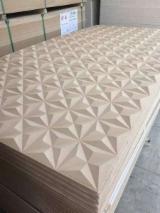 Paneles Reconstituidos - PLAIN MDF, 2.5-25 mm