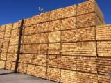 Softwood  Sawn Timber - Lumber Thermo Treated - Pine squares for pallet manufacture