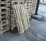 Pallets And Packaging for sale. Wholesale Pallets And Packaging exporters - Recycled - Used In Good State  Euro Pallet - Epal from Romania, Arges