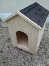 Garden Products Oak European Romania - Spruce (Picea abies) - Whitewood, Dog House