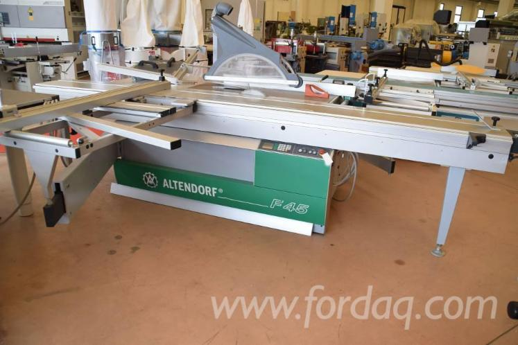 Used 2006 ALTENDORF F45 Sliding table saw for sale in Germany