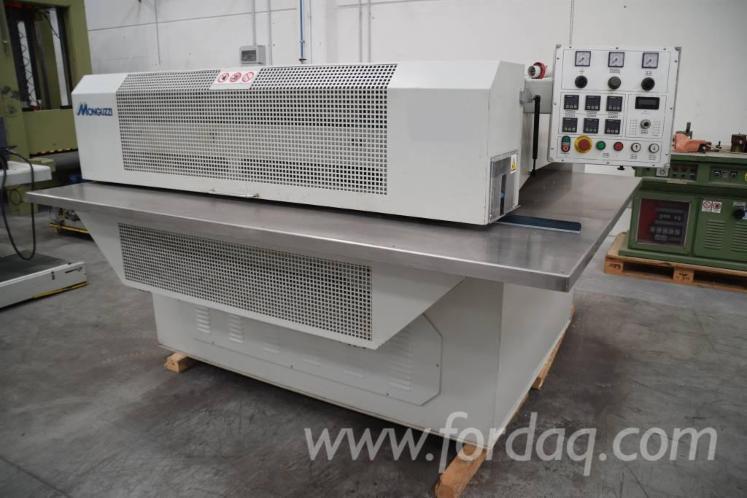 Used-2000-MONGUZZI-MG-1250-Veneer-splicing-machine-for-sale-in