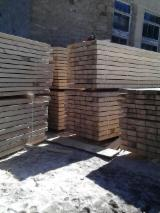 Softwood  Unedged Timber - Flitches - Boules - Pine  - Redwood Half-Edged Boards 20 mm Poland