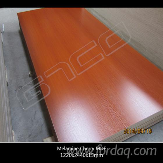 Melamine faced mdf high quality plywood