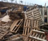 Pallets And Packaging - To Be Recycled - To Be Repaired  Pallet