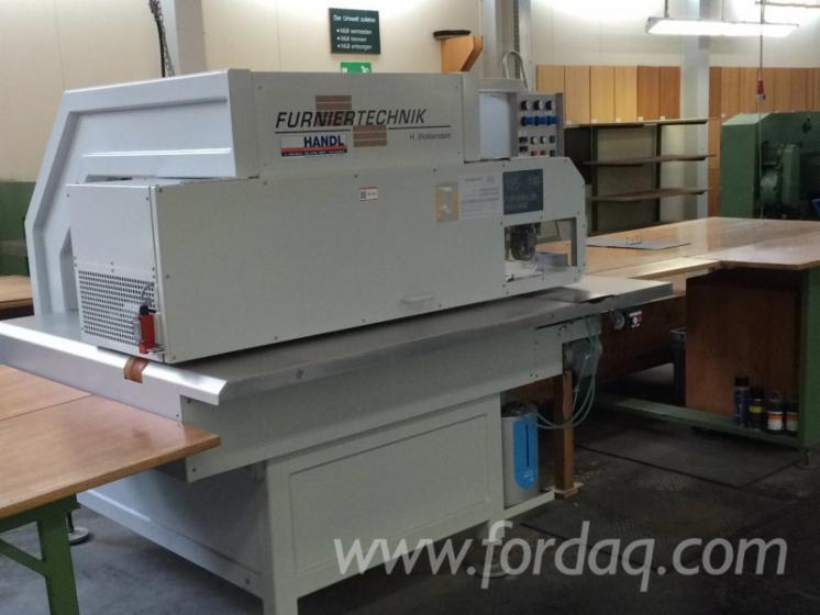 Used-2014-Furniertechnik-H-Wolkenstein-LZM-LA1000-Veneer-Splicers-in