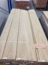 Sliced Veneer - Natural Veneer, Oak (European), Flat cut, figured
