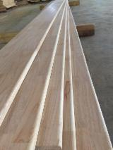 Edge Glued Panels Discontinuous Stave Finger-joined For Sale - Rubber (hevea) solid wood panels/rubber wood finger joint panel for France/Belgium
