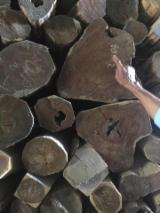 Hardwood  Unedged Timber - Flitches - Boules - Rosewood boules for sale