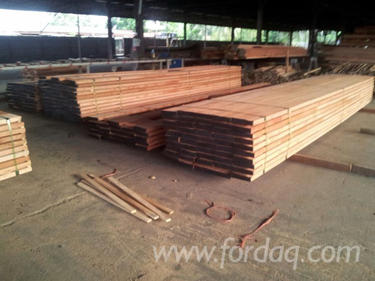 Red Meranti Sawn Timber ~ Malaysia sawn timber offer keruing kapur selangan batu