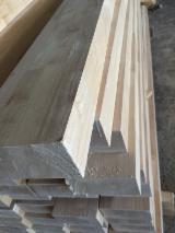 Solid Wood Components For Sale - Ruber wood Glued Window Scantlings/European oak Glued Window Scantlings/Ash wood Glued Window Scantlings