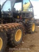 Fordaq wood market Used 2001 John Deere 1263 Harvesters for sale in Canada