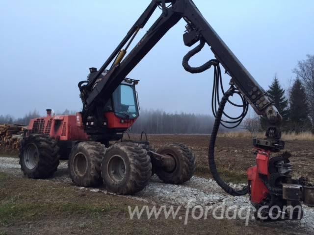 Used-2007-Valmet-911-3-Harvesters-for-sale-in