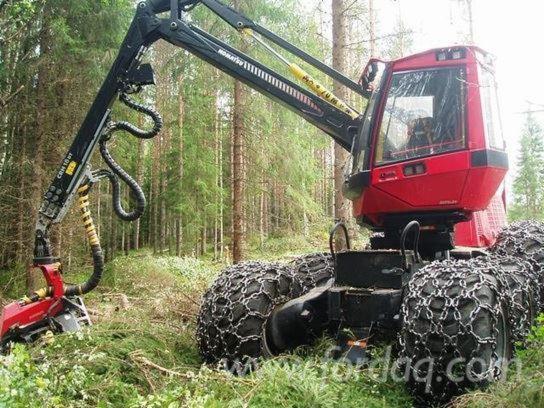 Used-2014-Komatsu-911-5--C93-Harvesters-for-sale-in