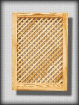 Massivholz-Komponenten Kiefer Pinus Sylvestris - Rotholz Zu Verkaufen - Küchentür