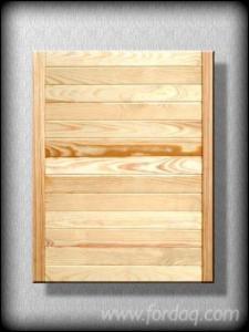 Portas De Cozinha Pinus - Sequóia Vermelha