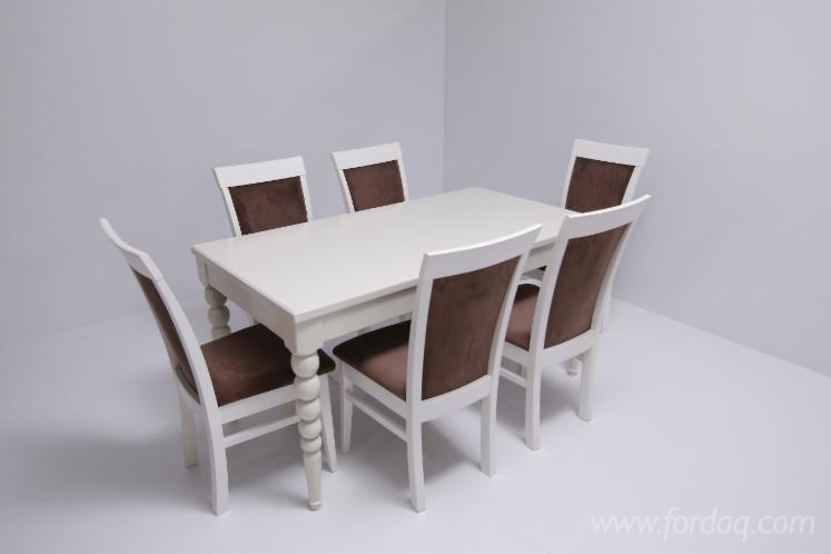 Beech Dining Room Sets, Chair and Table