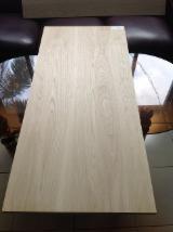 Fourniture de produits bois - Vend Panneau Massif 1 Pli Chêne 18/20/22/24/30/40 mm European White Oak / American White Oak