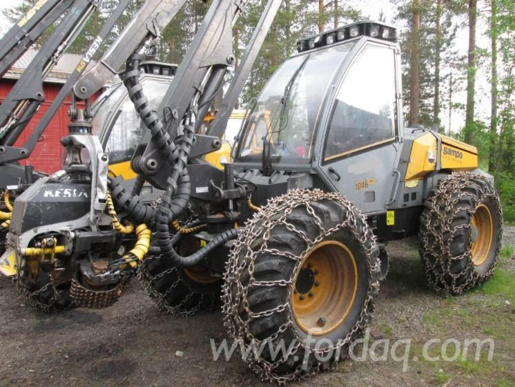 Used-2008-Sampo-Rosenlew-1046pro-Harvesters-for-sale-in