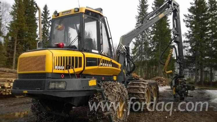 Used-2012-Ponsse-Beaver-Harvesters-for-sale-in