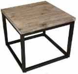 Dining Room Furniture - Side table from wood and steel