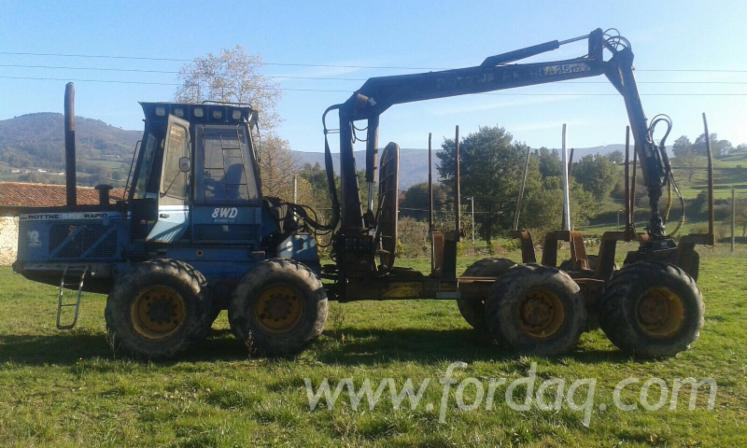 Used-1993-ROTTNE-SMv-RAPID-8-WDH-FOREST-MACHINERY-in