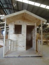 Garden Products - Wood play house offer