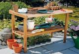 Garden Products for sale. Wholesale Garden Products exporters - Wood garden shelves offer