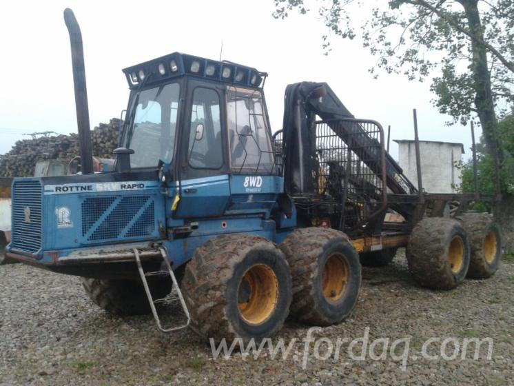 Used-1993-ROTTNE-SMV-RAPID-8-WDH-Front-End-Loader-in