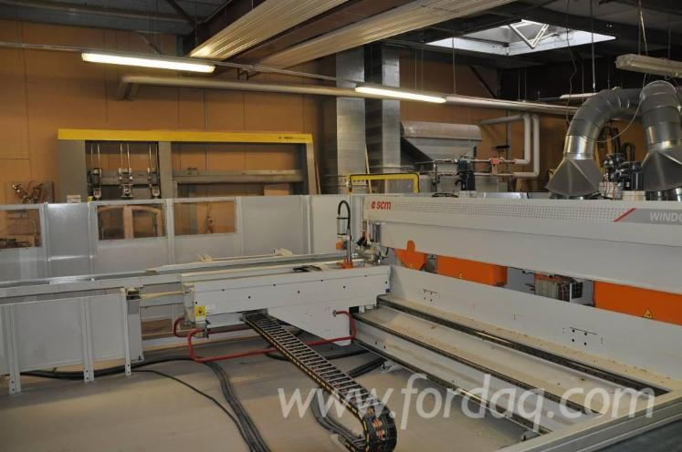 Used-2010-SCM-WINDOR-60-10-Angular-window-machining-centre-for-sale-in
