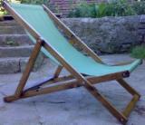 Contemporary Garden Furniture - Wood loungers
