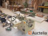 SCM 2041 FS Combined Jointer, Planer, slotting machine