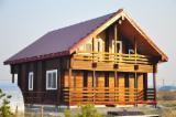 Wood Houses - Precut Timber Framing For Sale - Construction and production of buildings on a