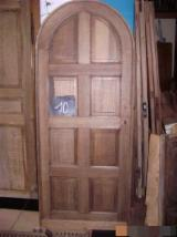 Doors, Windows, Stairs - Seven oak arched doors 8 panels