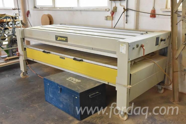 Used 1999 JOOS Veneer press JUNIOR 2 Platen press for sale ...