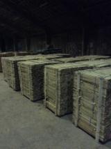 Acacia strips, square poles, boards, logs