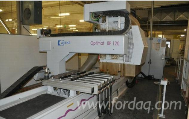 Used-Weeke-CNC-Machining-center-Optimat-BP-120-for