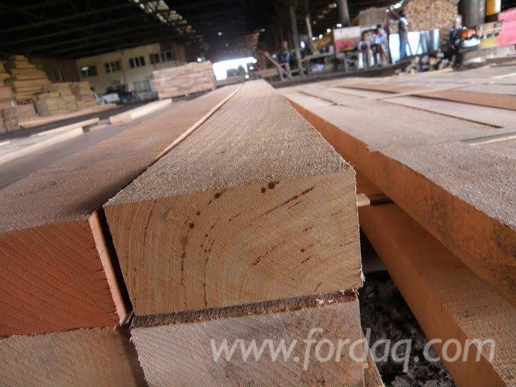 Red Meranti Sawn Timber ~ Malaysia yellow balau selangan batu timber for sale