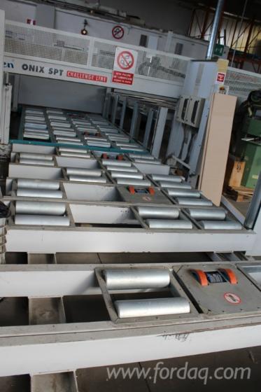 Used-GIBEN-horizontal-beam-saw-for