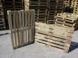 Wood Pallets - Recycled - Used In Good State  ISPM 15 Pallet from Romania