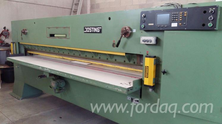 Used-1995-JOSTING-EFS-3200-L-Guillotine-for-sale-in