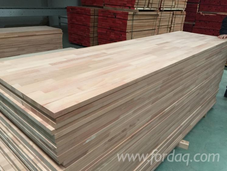Wholesale Beech 18; 20; 27; 38; 40 mm Finger Jointed (Discontinuous Stave) European hardwood Romania