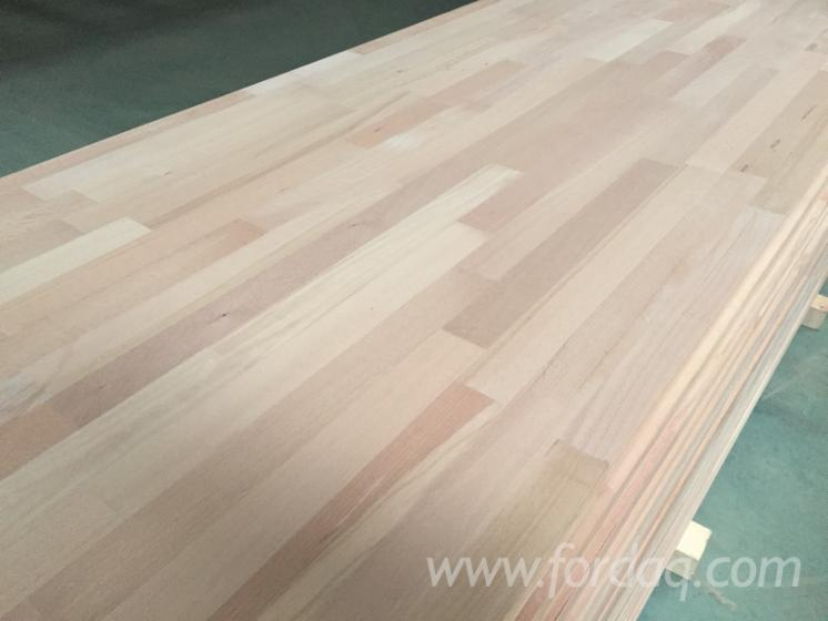 Beech 18; 20; 27; 38; 40 mm Finger Jointed (Discontinuous Stave) European hardwood Romania