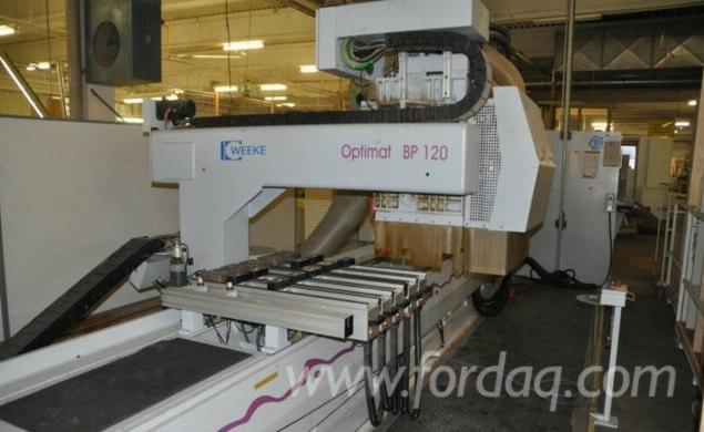 Used-Weeke-BP-120-CNC-machining-center-for