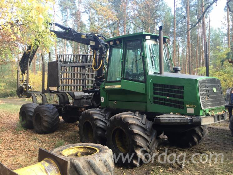 Used-2006-John-Deere-1410D-Eco-III-Forwarder-in