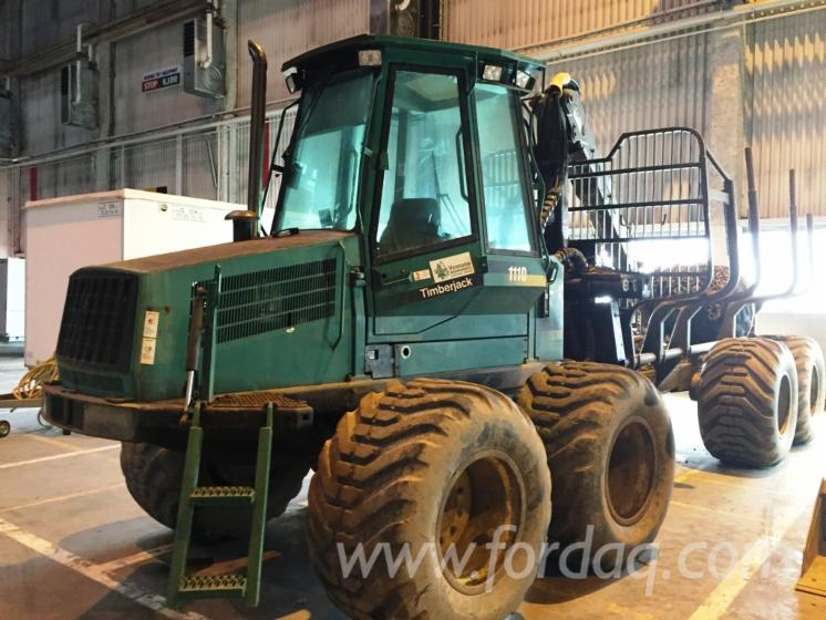 Used-1997-Timberjack-1110-Forwarder-in